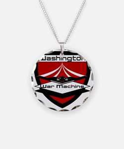 CFL_Washington War Machine L Necklace Circle Charm