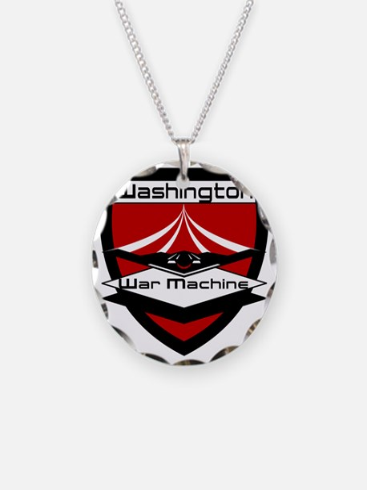 CFL_Washington War Machine L Necklace Circle Charm