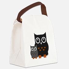 Owls (1) Canvas Lunch Bag