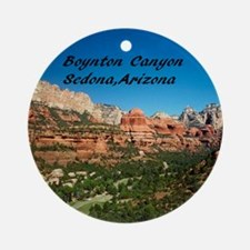 Boynton Canyon20x16 Round Ornament