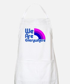 We Are Everywhere Bi Pride BBQ Apron