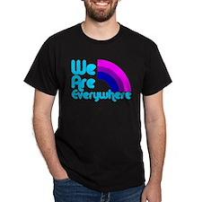 We Are Everywhere Bi Pride T-Shirt