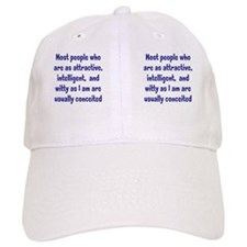 conceited_mug2 Baseball Cap