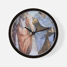 School of Athens (detail - Plato  Arist Wall Clock