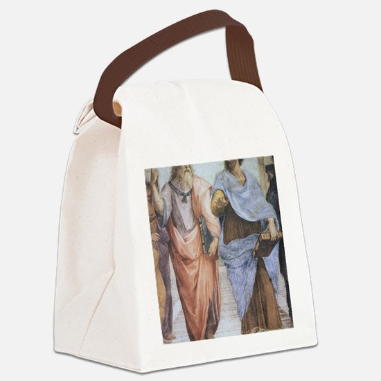 School of Athens (detail - Plato  Canvas Lunch Bag