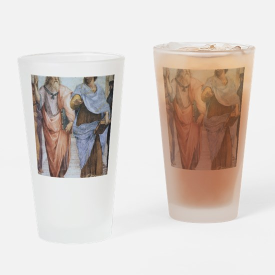 School of Athens (detail - Plato  A Drinking Glass
