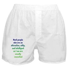 conceited_tall2 Boxer Shorts