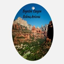 Boynton Canyon2.91x4.58 Oval Ornament