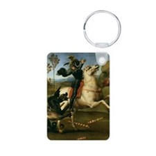 St George Fighting the Dra Keychains