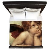 Angel Luxe King Duvet Cover