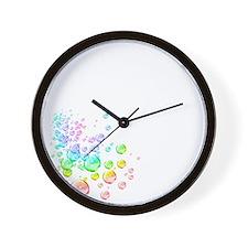 10x10-invis1 Wall Clock