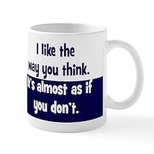 dont-think_rnd2 Mug