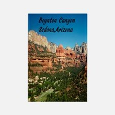 Boynton Canyon 2.34x3.2 Rectangle Magnet