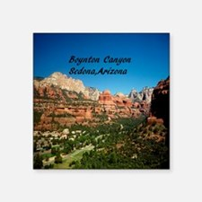 "Boynton Canyon3.5x3.5 Square Sticker 3"" x 3"""