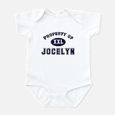 Property of jocelyn Infant Bodysuit