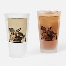 Basket of Fruit Drinking Glass