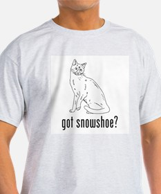Snowshoe Ash Grey T-Shirt
