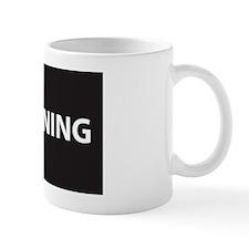 WINNING 5x3oval_sticker Mug