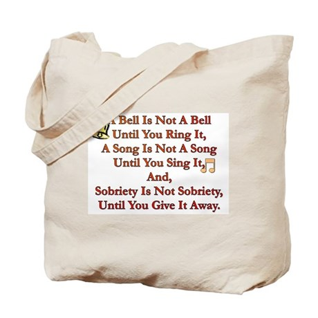 A Bell Is Not A Bell Tote Bag