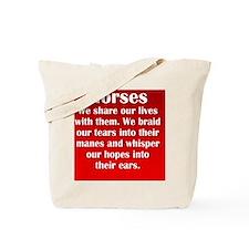 horses_rnd2 Tote Bag