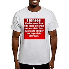 horses_rnd2 T-Shirt