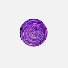 P-PURPLE-ROSE Mini Button