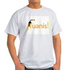 Tuanis Ash Grey T-Shirt