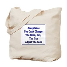 Acceptance Wind Tote Bag
