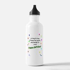 WrinkleCard2 Sports Water Bottle