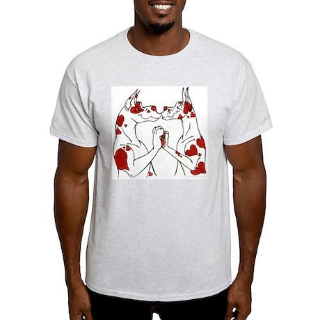 Heartliquins Ash Grey T-Shirt