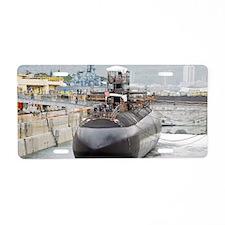 cochristi mini poster Aluminum License Plate