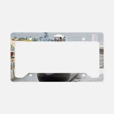 cochristi large poster License Plate Holder