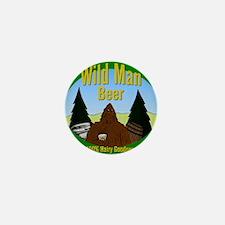 Wild Man Beer Mini Button