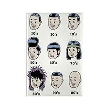 hair-history-LTT Rectangle Magnet