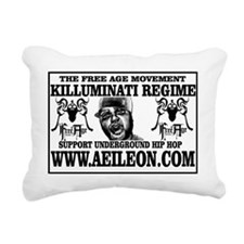 AEILEON 5 Rectangular Canvas Pillow