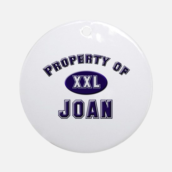 Property of joan Ornament (Round)