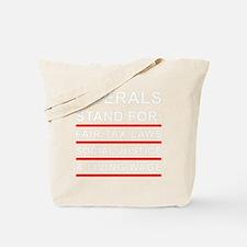 LIBERALS_BLACK_FINAL Tote Bag