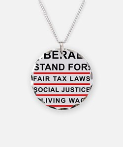 LIBERALS_WHITE_FINAL Necklace