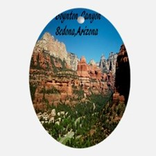 Boynton Canyon3.25x6 Oval Ornament