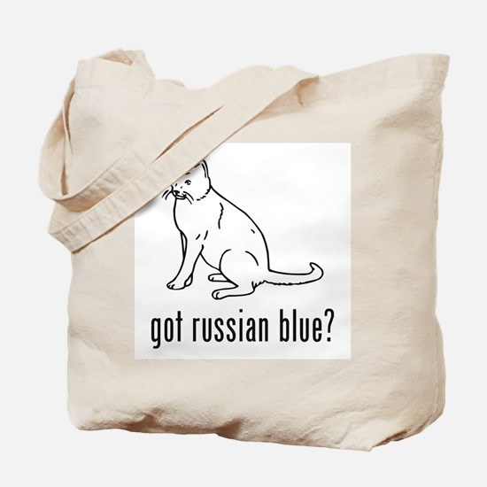 Russian Blue Tote Bag