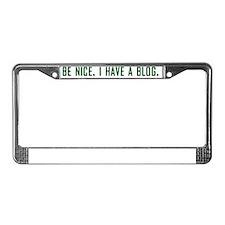 benice1 License Plate Frame