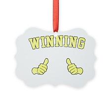 Winning Ornament