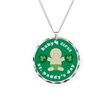 Babys First St Paddys Necklace