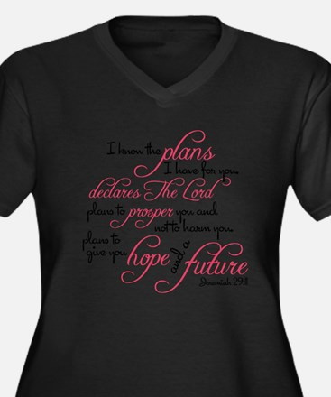 Jeremiah 29:1 Plus Size T-Shirt