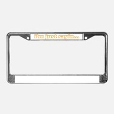 im just2 License Plate Frame