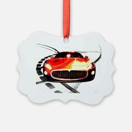 Maserati Front 2 Ornament