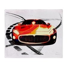 Maserati Front 2 Throw Blanket