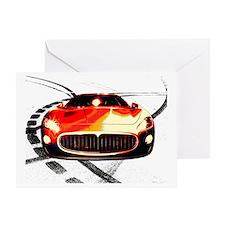 Maserati Front 2 Greeting Card