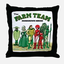 FARM_TEAM-TSHIRT Throw Pillow