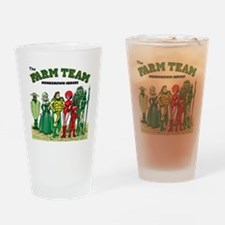 FARM_TEAM-TSHIRT Drinking Glass